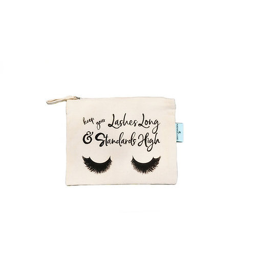 Organic Fair trade Cotton Make-up bag