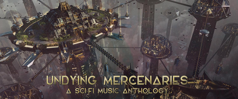Undying Mercenaries - Cover Design (for