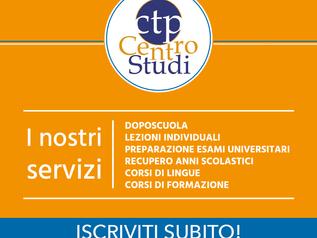 Centro studi CTP, servizi di formazione.