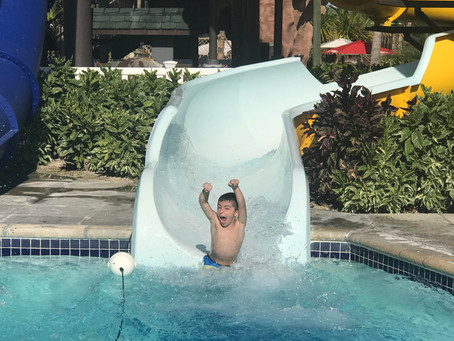 Want your kids to be as happy on vacation as him??