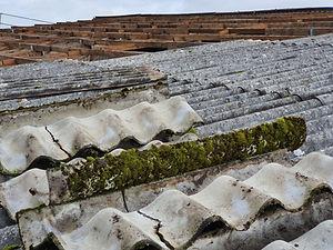 Dachsanierung, Asbestsanierung, Bauservice, Asbest Rückbau