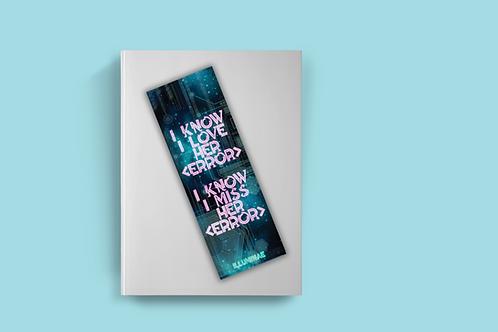 Illuminae bookmarks