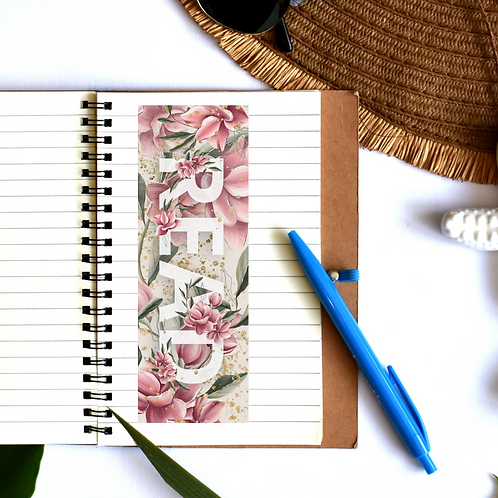 READ in Floral pink