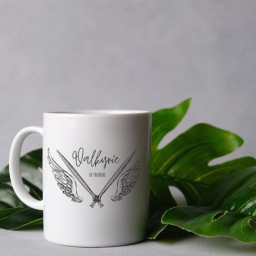 Valkyrie in training mug