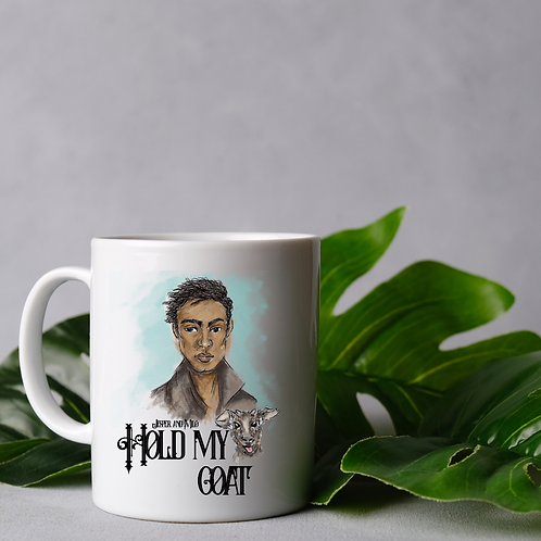 Hold my goat mug