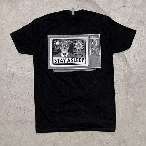 """Shaun Topper's """"STAY ASLEEP"""" T-Shirt"""