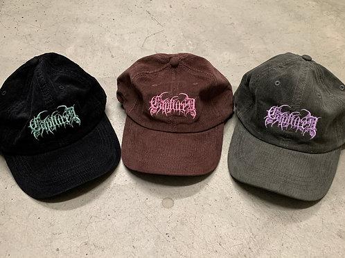 "Corduroy ""Dad Metal"" hats"