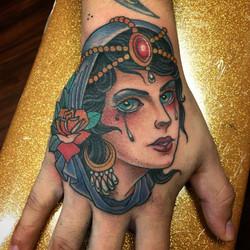 Girl on Hand by Chris Astrologo