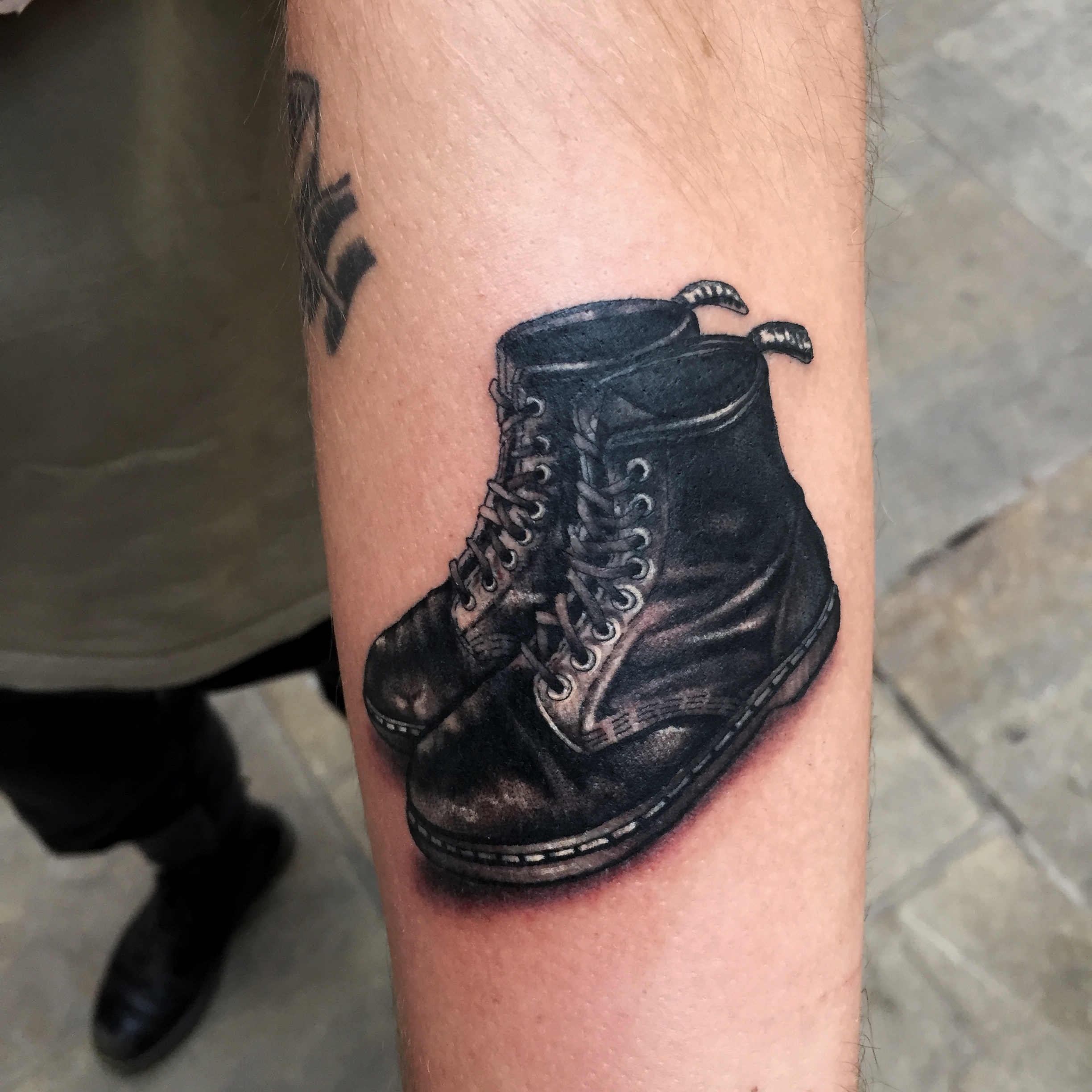 Doc Marten tattoo
