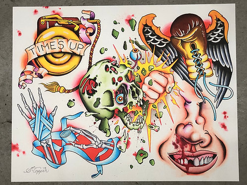 "Shaun Topper's ""All the Smoke"" Print"