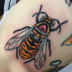 Wasp tattoo