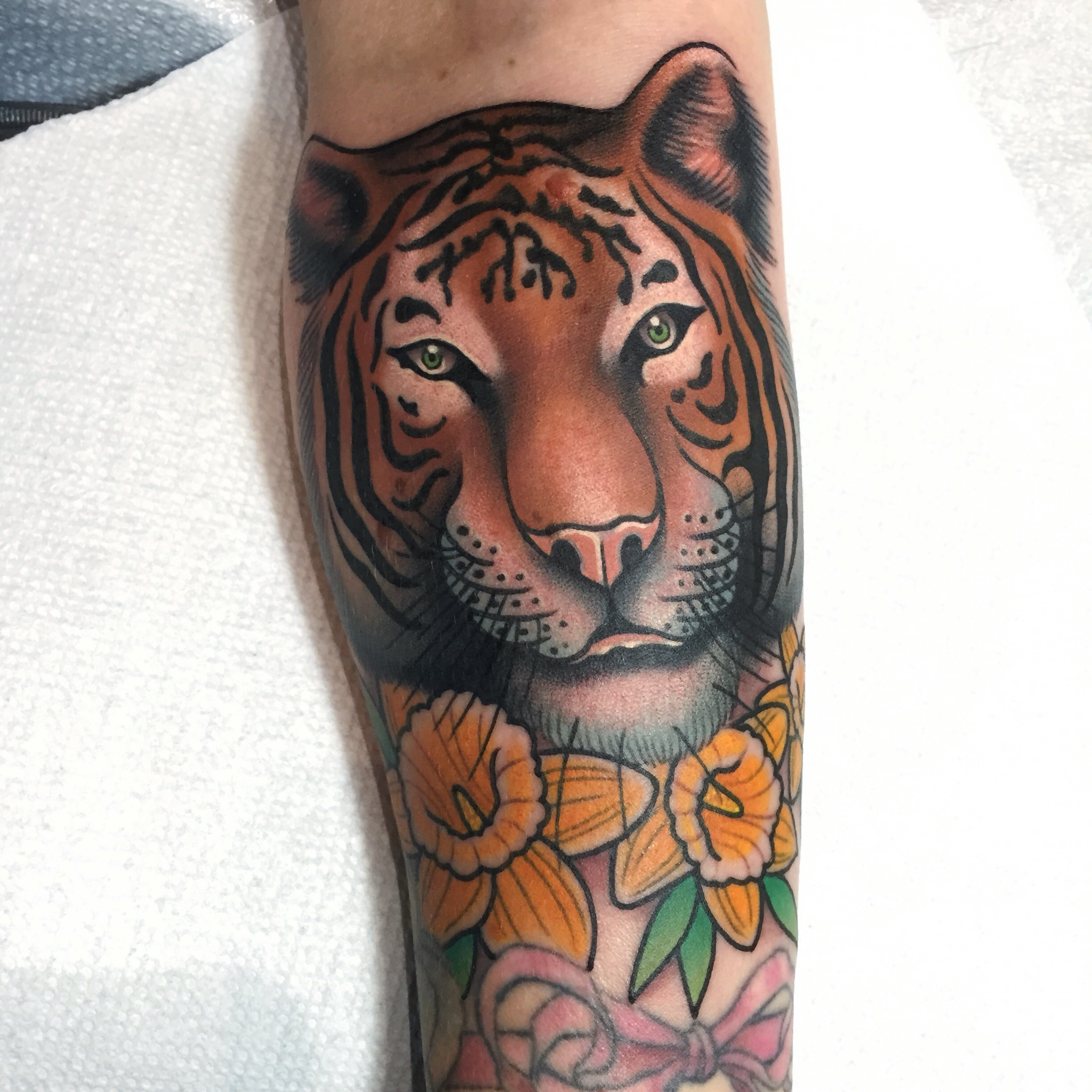 Tiger Tattoo by Dan Smith