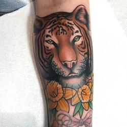 Tiger Tattoo by Dan Smith