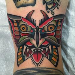 Demon Butterfly Tattoo