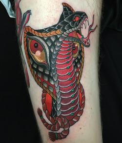 Cobra Tattoo by Chris Astrologo