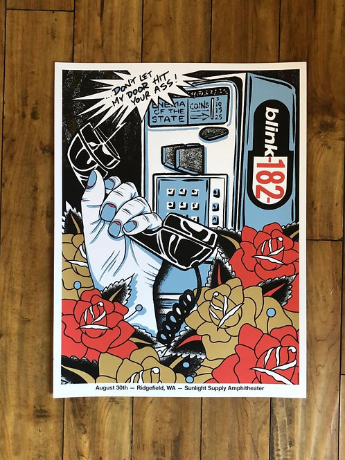 BLINK 182 Poster by Dan Smith