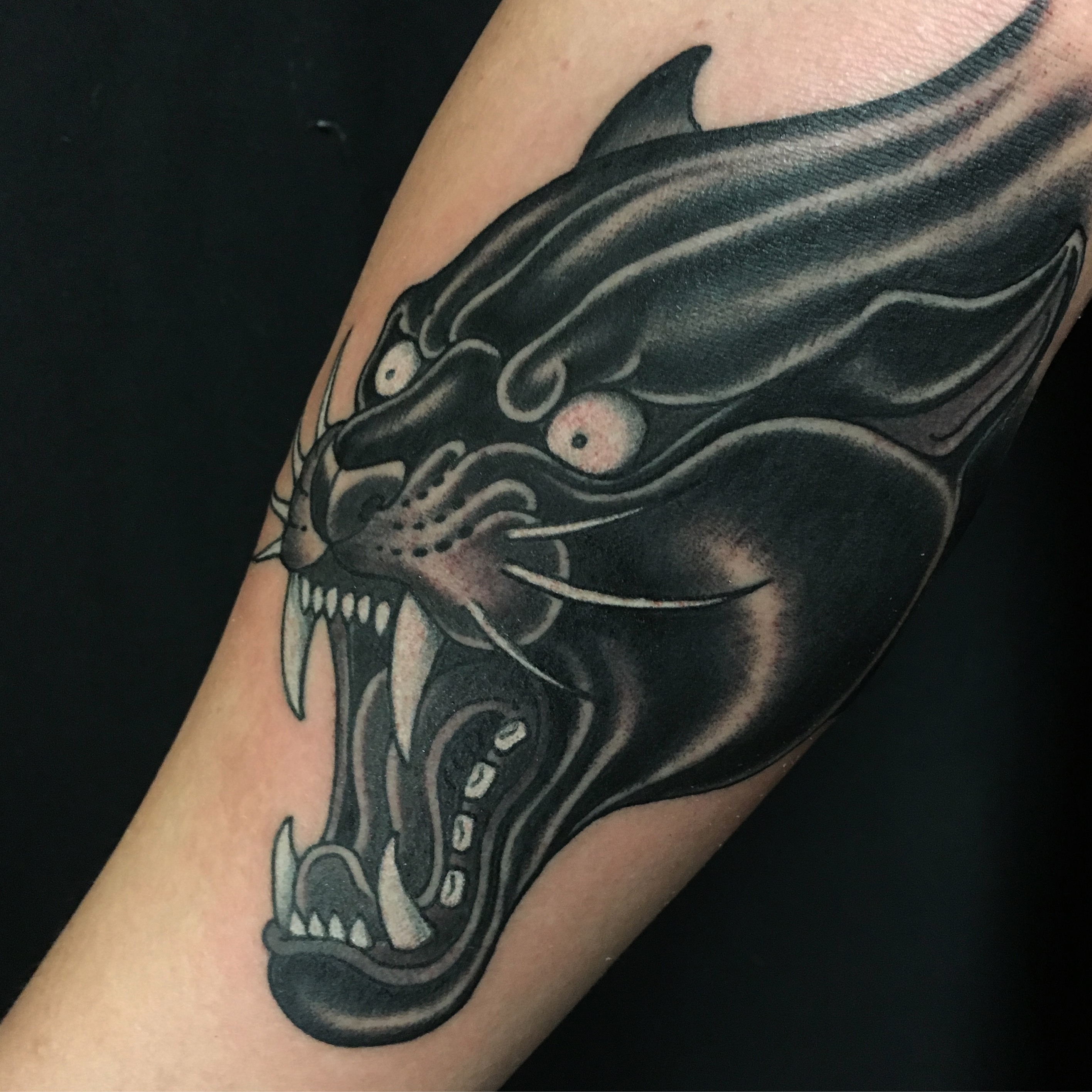 Panther Tattoo by Chris Astrologo
