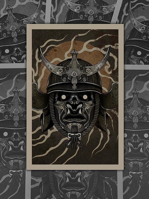 "Sean Hall's ""Ghost Ronin"" Print"