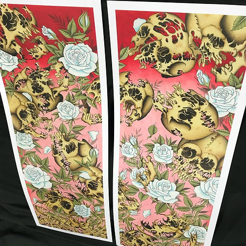"Shaun Topper's ""13 Skulls"" Prints"