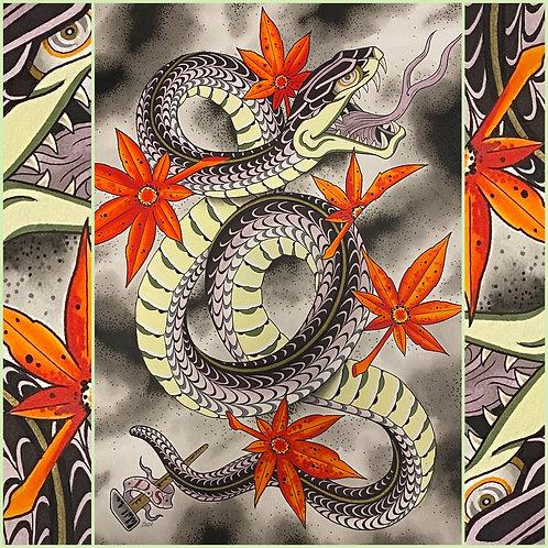 Dan Smith's Snake Print