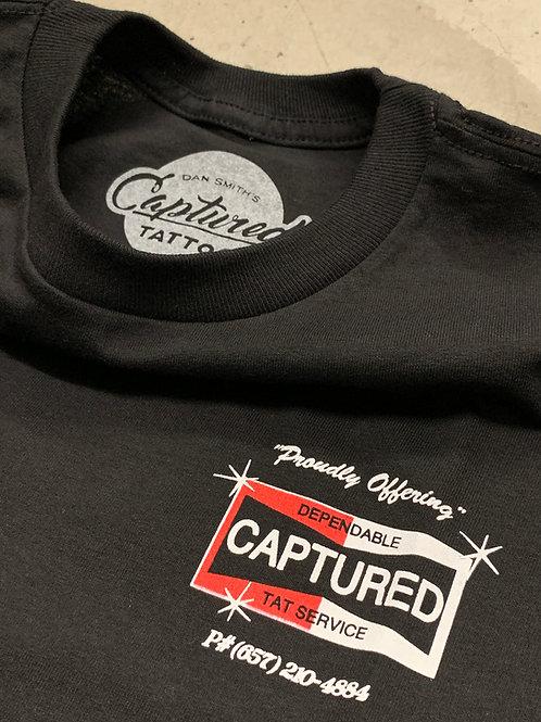 "Black Captured ""Body Shop"" T-shirts"