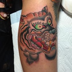 Tiger Head Tattoo