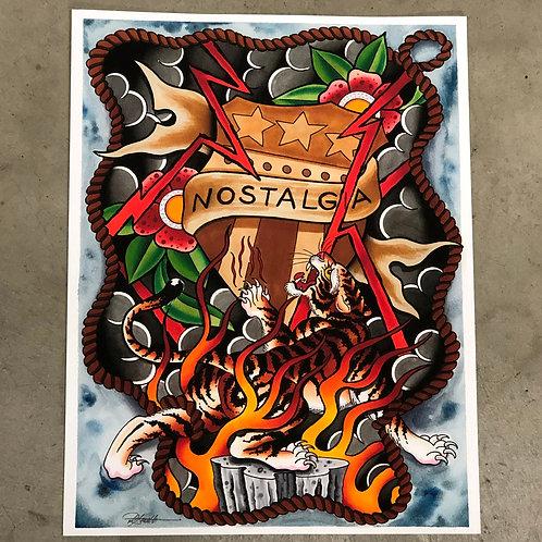 """Dan Smith's """"Nostalgia"""" Prints"""