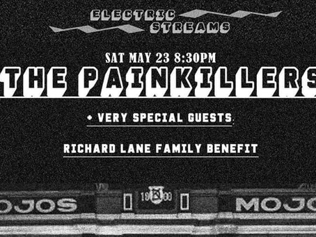 The Painkillers + very special guests raise funds for Richard Lane