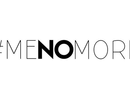 #meNOmore: An important read
