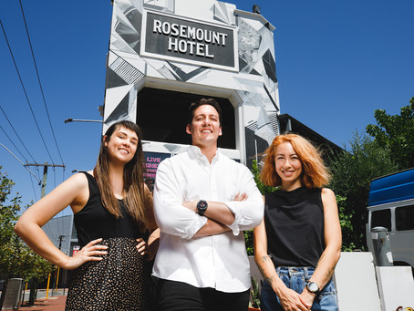 Perth's legendary Rosemount Hotel announces new in-house booking team