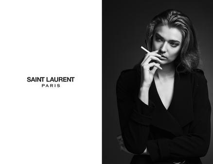 Saint Laurent Mock Ad