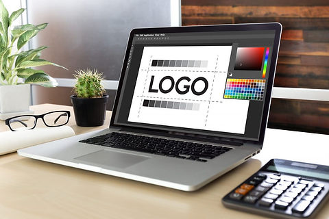 Laptop with logo design.jpg
