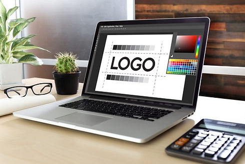 Laptop with logo design.jpg
