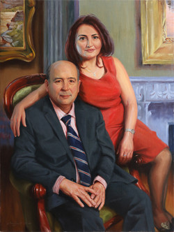 Mrs. & Mr. Kayat 30 x 40