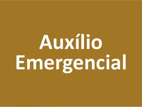 Auxílio Emergencial fica para abril e com a maioria recebendo R$ 150,00.