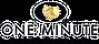 One Minute Logo Doré PNG