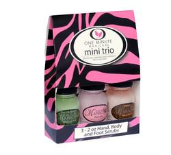 One Minute_ gommage mini trio