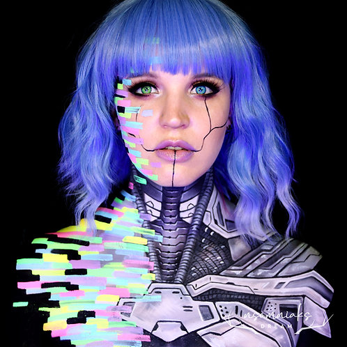 Glitched Cyborg