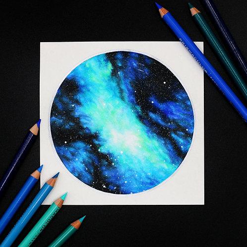 Teal Galaxy