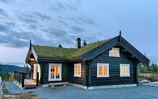 Фото проекта загородного дома в норвежском стиле в архитектуре