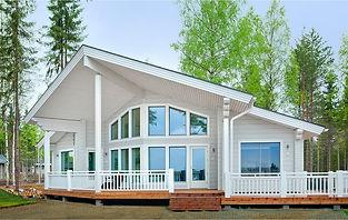 Фото дома в финском стиле в архитектуре