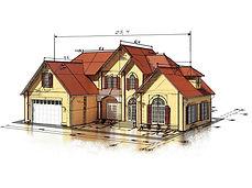 Архитектурная мастерская 4 сезона оказывает услуги проектирования загородных домов под ключ