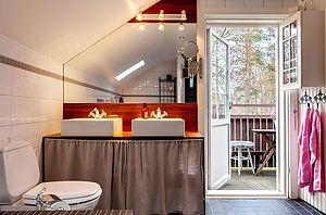 Фото дизайна интерьера в шведском, скандинавском стиле, визуализация интерьера