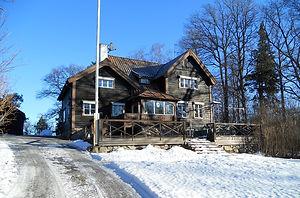 Фото проекта дома в шведском стиле в архитектуре