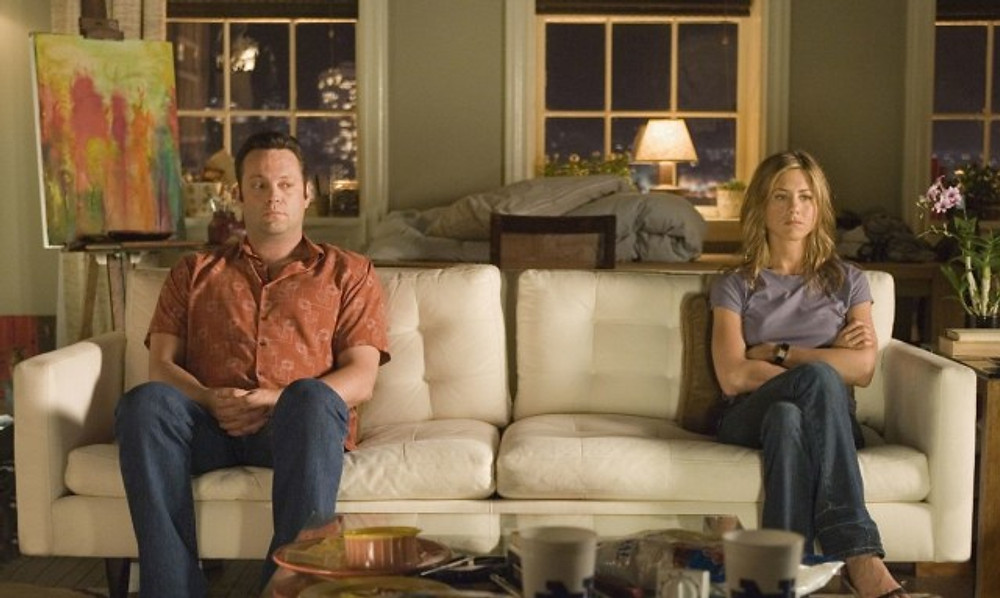 Vince Vaughn and Jennifer Aniston in 'The Break Up'