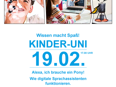 Kinder-Uni am 19.02.2021