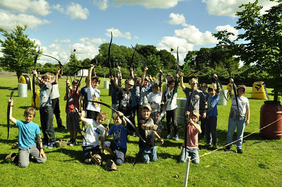 Kids Battle Archery Parties