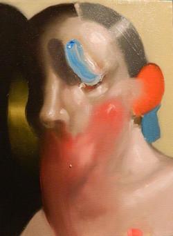 Untitled (blue eye), 2015