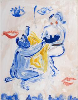 Oil on canvas, 30x40cm, 2019