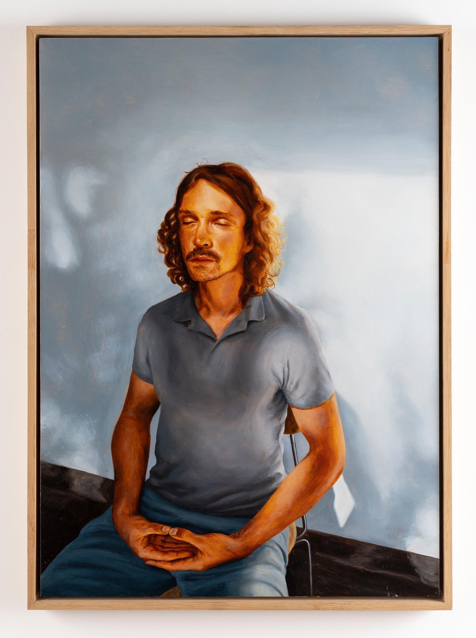Daniel - Oil on canvas, 50x70 cm, 2019